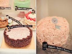 Camera film roll cake sign