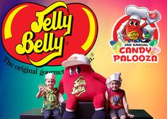 Minions clip + Huge Frozen Jump House +CandyPalooza at The Jelly Belly F...