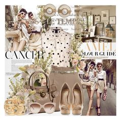 CANCER by olga3001 on Polyvore featuring polyvore fashion style Marc by Marc Jacobs Miss Selfridge Vince Camuto MICHAEL Michael Kors Chanel Givenchy STELLA McCARTNEY Pottery Barn Zara