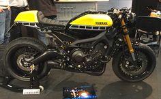 Yamaha XSR 900- based custom build (Picture taken @ Intermot 2016, Cologne)