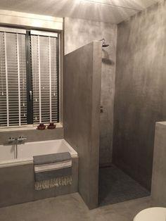 bathroom layout Beal Mortex Veenendaal Oost 4 is part of Bathroom - Modern Bathroom Tile, Contemporary Bathroom Designs, Bathroom Design Small, Bathroom Layout, Bathroom Interior Design, Bathroom Vanities, Bathroom Wall, Bathroom Ideas, Concrete Shower