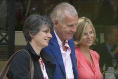 Patrick Poivre d'Arvor et ses filles à Paris le 16 juin 2015