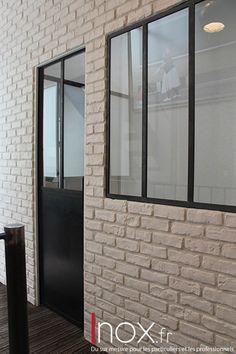 Fenêtres d'atelier acier brut