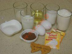 Damat Pastası İçin Gerekli Malzemeler Glass Of Milk, Waffles, Tart, Food, Cake, Meal, Pie, Essen, Hoods