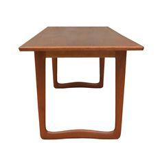 Mid-Century Modern Teak Coffee Table spread the love www. Teak Coffee Table, Desks, Vikings, Mid-century Modern, Tables, Mid Century, Furniture, Home Decor, Products