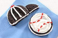 Oreo CAKESTERS Baseball & Cap #oreorecipe