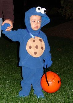 A easy elmo costume now thats a good daddy elmo diy cookie monster more solutioingenieria Choice Image