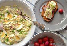 Salata de oua cu maioneza | Savori Urbane