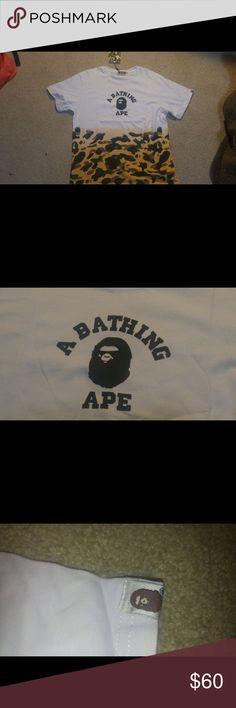 *RARE* bape shirt Bape shirt never been worn comes with tags and official bape bag Bape Shirts Tees - Short Sleeve