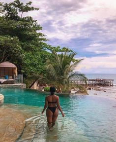 As a young child, we islands beaches during the summer. Kayaking, big family meals, playing on the beach - fantastic memories! Vacation Mood, Vacation Outfits, Diani Beach, Black Girl Aesthetic, Foto Art, Travel Aesthetic, Bikini Swimwear, Swimsuits, Bikini Pics