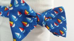 Another Sailboat Bow Tie!
