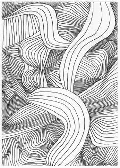 Emily Victoria Marie Bland, Untitled 39, 2014, PITT artist pen on paper, 21 x 14.9 cm