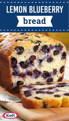 Lemon Blueberry Bread – Delight your brunch guests this spring and summer by serving up this flavorful quick bread recipe. Fresh blueberries in season? Now's the perfect time to try out this homemade sweet treat with a hint of citrus.