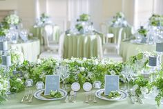 Table Decorations, Green, Color, Home Decor, Birthday, Decoration Home, Room Decor, Colour, Home Interior Design