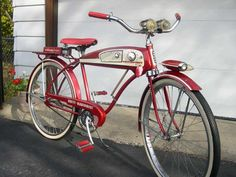 1950's Huffy Radio Bike - Picture #2 - Dave's Vintage Bicycles