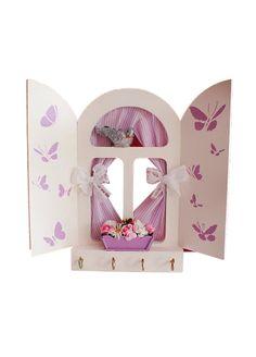 Nesli Design - Nesli Design Pencere Anahtarlık Mor 23 x 22 cm. Markafoni'de 65,00 TL yerine 44,99 TL! Satın almak için: http://www.markafoni.com/product/6916492/