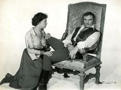 With Claire Bloom in The Buccaneer, Claire Bloom, Yul Brynner, Le Far West, West Hollywood, Good Old, Che Guevara, Actors, History, Men