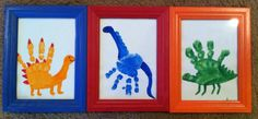 Dinosaur Art for Torry's Toddler Room