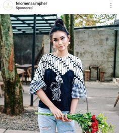 African Wear, African Dress, African Fashion, Batik Kebaya, Kebaya Dress, Blouse Batik, Batik Dress, Batik Fashion, Hijab Fashion