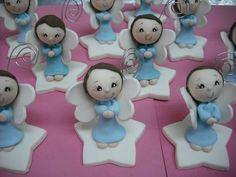 Recuerdos Bautizo, Baby Shower, Virgencitas Angelitos Hadita - $ 19.00