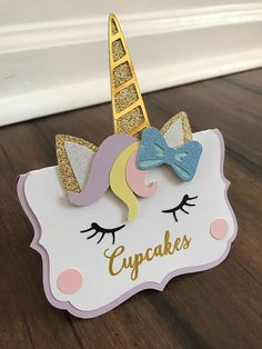 Univorn party decorations unicorn party unicorn tent cards