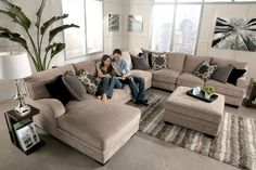 Comfortable Living Room Chaise Lounge 96 fortable ashley Sectional sofa Ideas for Living Living Room Sofa Design, Living Room Sectional, New Living Room, My New Room, Living Room Designs, Living Room Decor, Living Area, Dining Room, U Couch