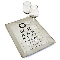 I'm obsessed with eye charts