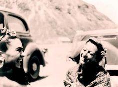 Frida Kahlo and Josephine Baker - 1938