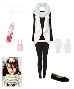 """Byakuya Kuchiki"" by pumpkinpanda324 ❤ liked on Polyvore"