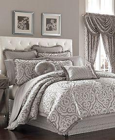 Ligh Blue King Venice Collection Venetian Luxury Damask Bed Sheet set Bed Sheet set