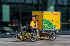 VELOTransport - DHL Niederlande testet vierrädriges E-Lastenrad