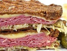 January 14, 2013 - National Hot Pastrami Sandwich Day | Hot Pastrami Sandwich | @onjamesplate.blogspot.com