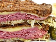 January 14, 2013 - National Hot Pastrami Sandwich Day | Hot Pastrami Sandwich | @onjamesplate.blogspot.com