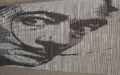 Our tribute to Salvador #Dalí A metal chain curtain by @KriskaDECOR.  #design #decor
