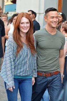 Julianne Moore and Joseph Gorden- Levitt Film 'Don Jon's Addiction'