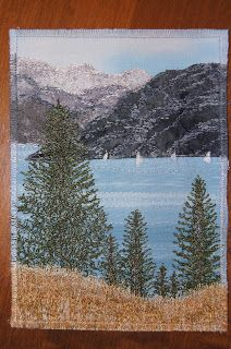 Okanagan Bliss. Free motion quilting by Coleen Adderley. To see more go to http://quiltedreflections.blogspot.com