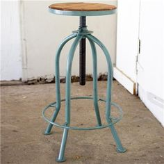 20 farmhouse bar stools to make your house look vintage and awesome! Rustic Bar Stools, Industrial Bar Stools, Metal Bar Stools, Modern Bar Stools, Metal Stool, Industrial Furniture, Home Bar Furniture, Farmhouse Furniture, Country Furniture