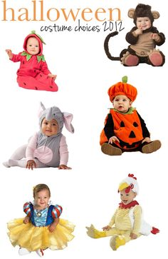 Infant + Baby Halloween costume ideas