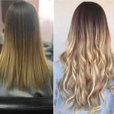 An amazing #beforeandafter to get you through #humpday  #happywednesday  # @hair.jesus via @latermedia