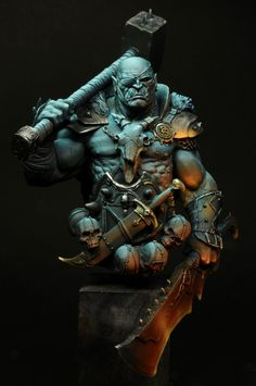 Razgor, The Warbringer by Roberto Del Cima · Putty&Paint