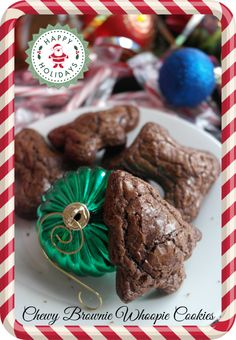 Use Star Olive Oil to create Chewy Brownie Whoopie Cookies this holiday season!