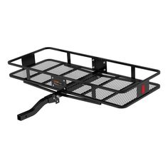 CURT Hitch Basket-Style Cargo Carrier for 2 Inch Trailer Hitch Receivers Cargo Rack, Cargo Net, Hitch Rack, Basket Style, Receiver Hitch, High Walls, Bike Rack, Kayak Rack, Large Baskets