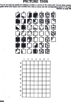 mystery grid drawing worksheets how 2 do it pinterest drawing grid worksheets and drawings. Black Bedroom Furniture Sets. Home Design Ideas
