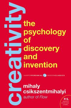 Read Book Creativity: Flow and the Psychology of Discovery and Invention (Harper Perennial Modern Classics), Author Mihaly Csikszentmihalyi I Love Books, Books To Read, My Books, Flow Psychology, Positive Psychology, Reading Time, Marketing, Date, Reading Online
