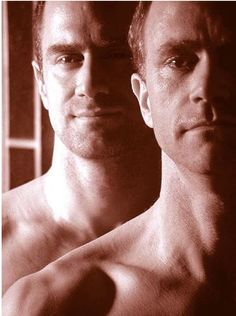 """Cellmates and lovers, Chris Keller and Tobias Beecher from """"OZ"""" (played by Christopher Meloni and Tobias Beecher)"""