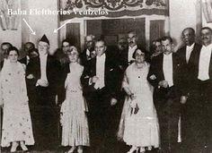 Sofokles Venizelos'un babası Eleftherios Venizelos ile M. Kemal