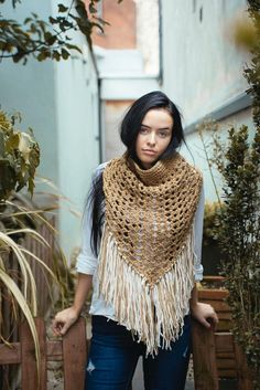 Oversized dark beige and navy cowl Winter 2017, Fall Winter, Autumn, Limited Collection, Winter Collection, Dark Beige, Alpaca Wool, Plaid Scarf, Cowl