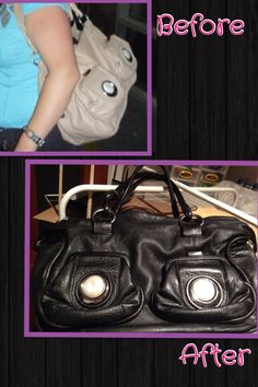 Re-coloured my Mimco bag
