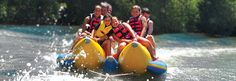 Banana Boat Rides and water sports included! Rocking horse ranch in ny!