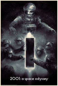 2001: A Space Odyssey by Karl Fitzgerald